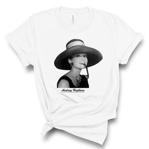Audrey Hepburn T Shirt soft unisex tshirt